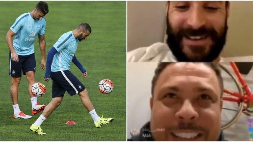 Benzema, Ronaldo e il paragone con Giroud: