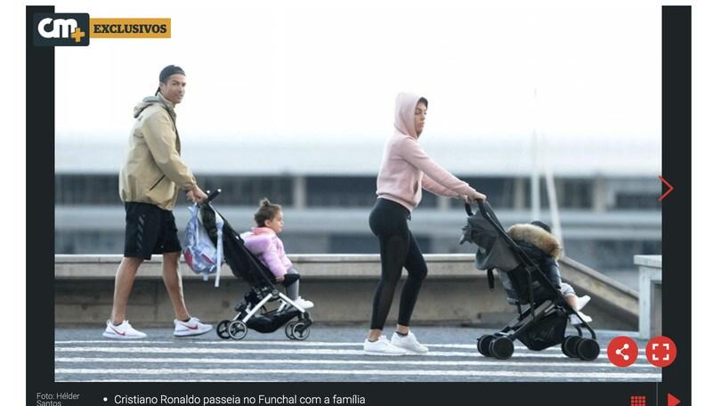 Coronavirus, Juventus: passeggiata a Funchal per Cristiano Ronaldo e famiglia