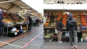 Piazza delle Erbe a Padova, nuove misure per evitare assembramenti