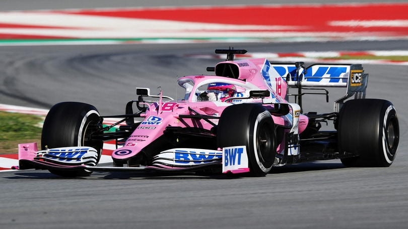 F1, Racing Point prova la vettura 2020 a Silverstone