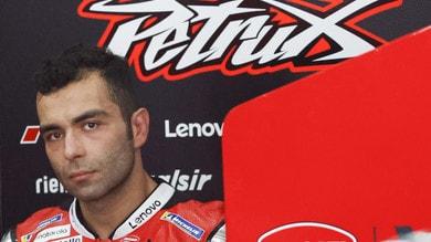 """MotoGp, Petrucci: """"Sto risolvendo i problemi a spalla e gamba"""""""