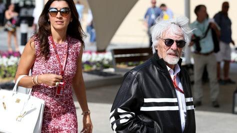 F1: Ecclestone da record, sarà di nuovo papà a 89 anni