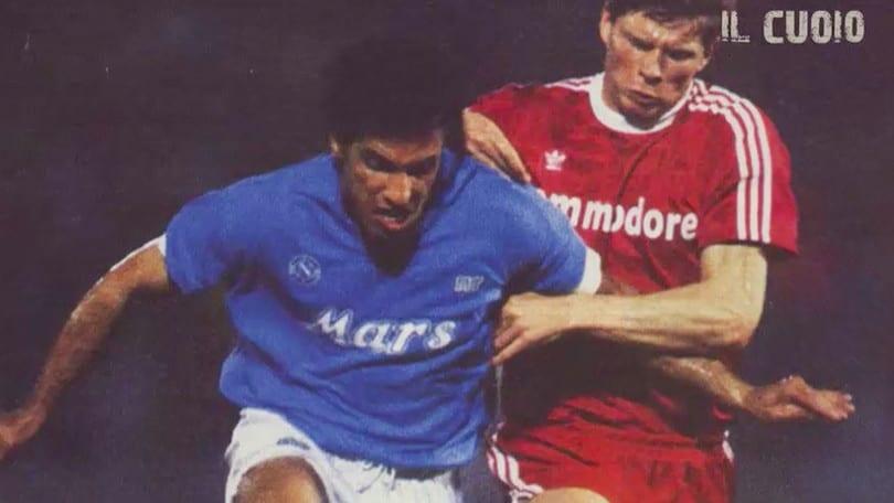 5 aprile 1989, il Napoli batte il Bayern e ipoteca la finale di Coppa Uefa