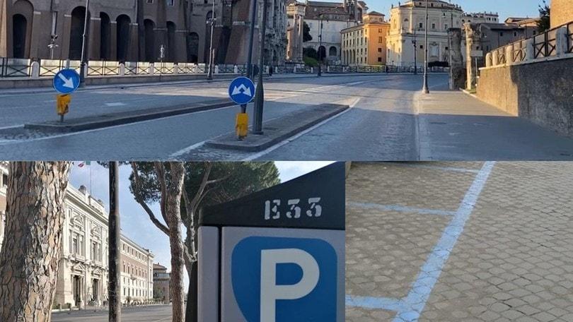 Coronavirus, Roma: strisce blu e ZTL gratis fino al 13 aprile