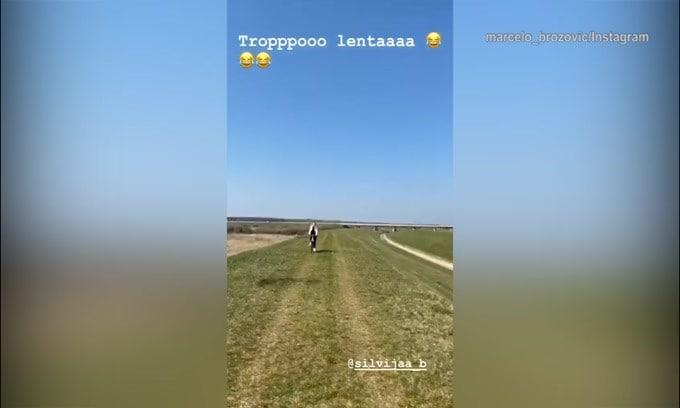 Inter, Brozovic più veloce di una bicicletta