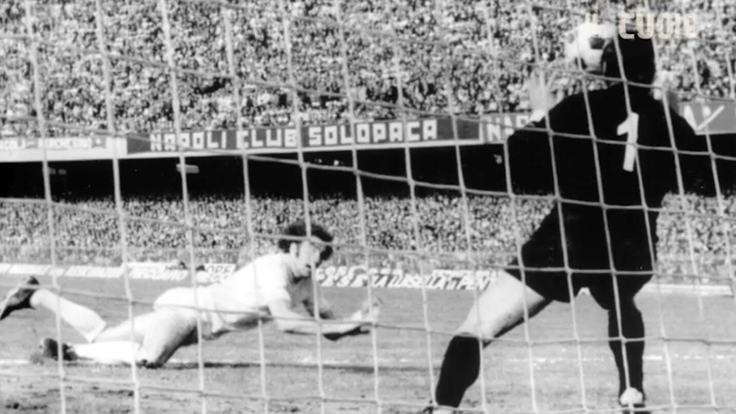 Napoli-Lazio 3-3: nel '74 la tripletta di Chinaglia al San Paolo