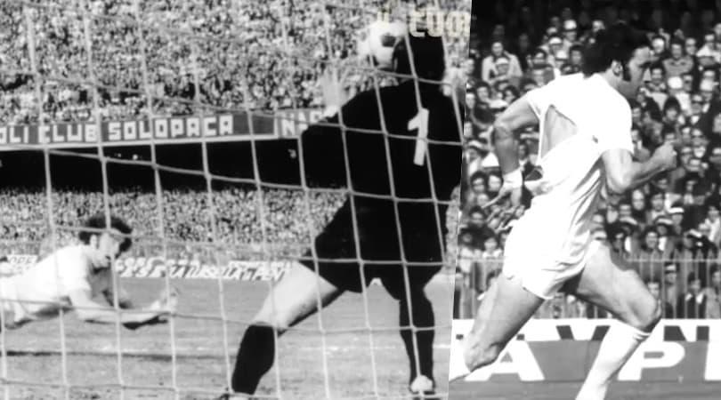 Napoli-Lazio '74: la tripletta di Chinaglia