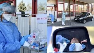 """Torino, iniziativa contro il Coronavirus: tamponi """"pit stop"""""""