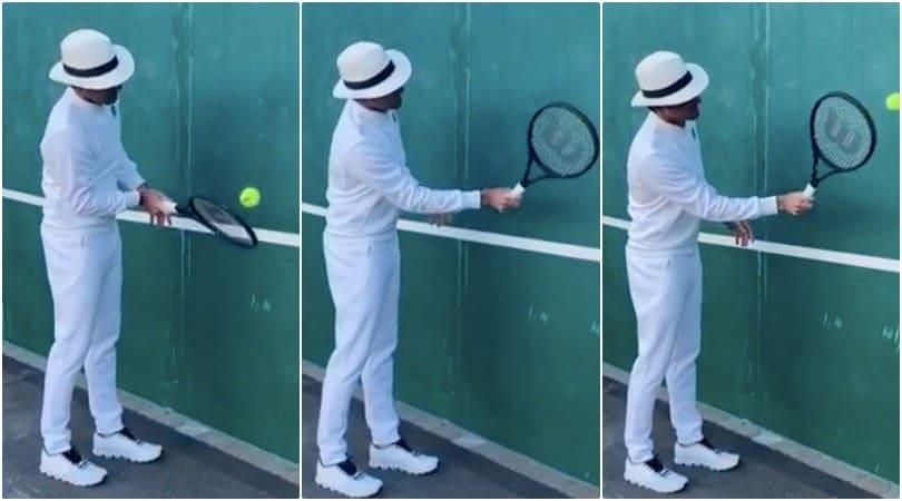 Coronavirus, la sfida social di Roger Federer