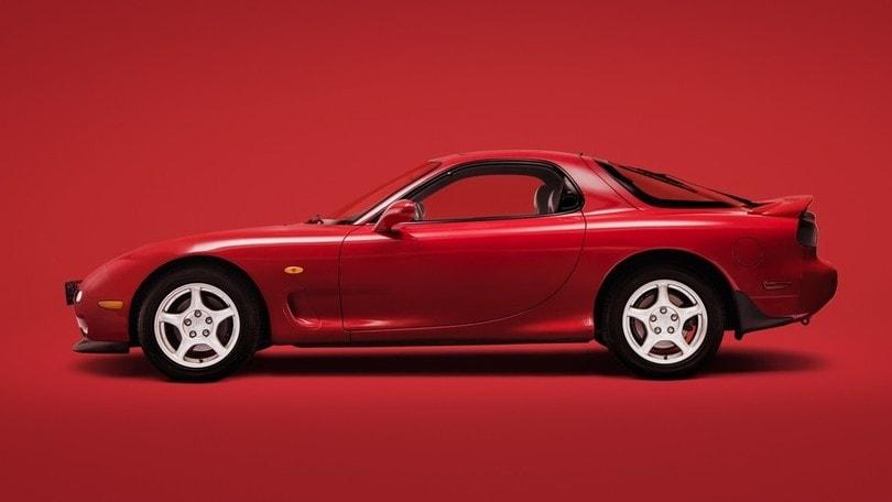 Mazda RX-7, un volante da intenditori