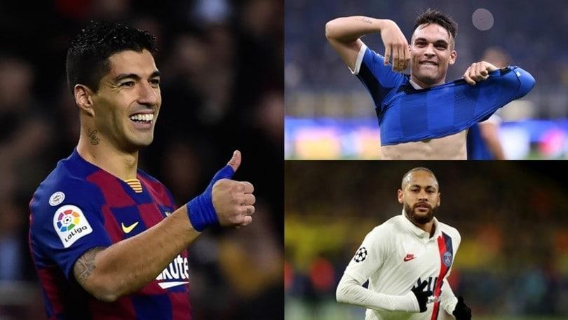 Suarez su Lautaro e Neymar:
