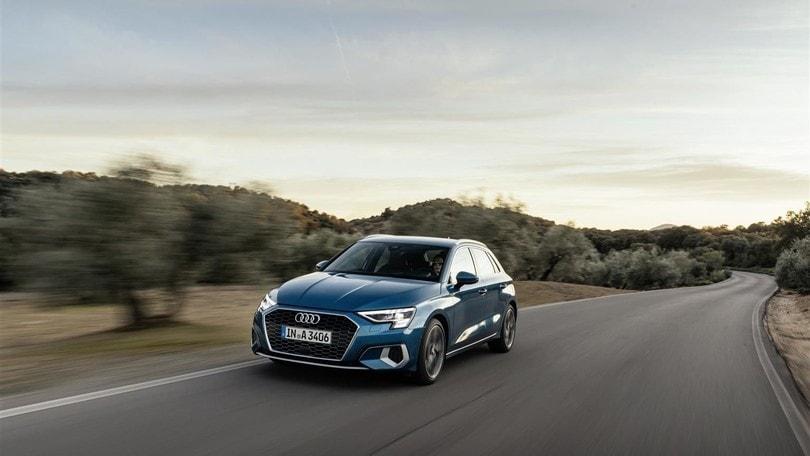 A3 Sportback, Audi svela la sua prima ibrida a 4 cilindri