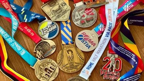 Acea Run Rome The Marathon lancia un challenge social 'La tua medaglia più forte'