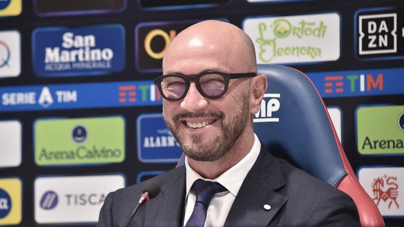 Cagliari, Zenga dirige la ripresa degli allenamenti