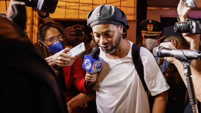 Ronaldinho rompe il silenzio:
