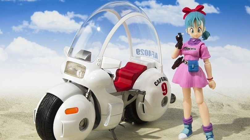 Dragon Ball, la motocicletta di Bulma diventa un modello in scala