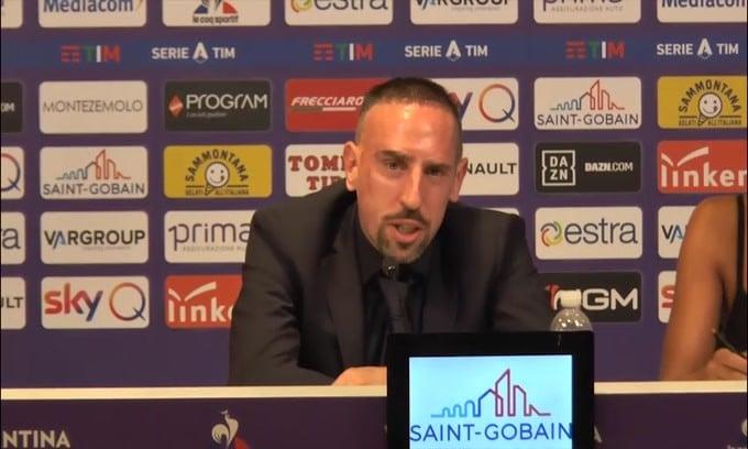 Fiorentina, Ribery scalpita