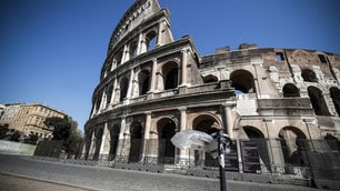 Coronavirus, Roma deserta anche a Pasqua