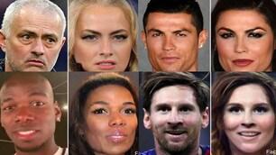 Da Ronaldo a Messi e Pogba, i campioni di calcio versione donna