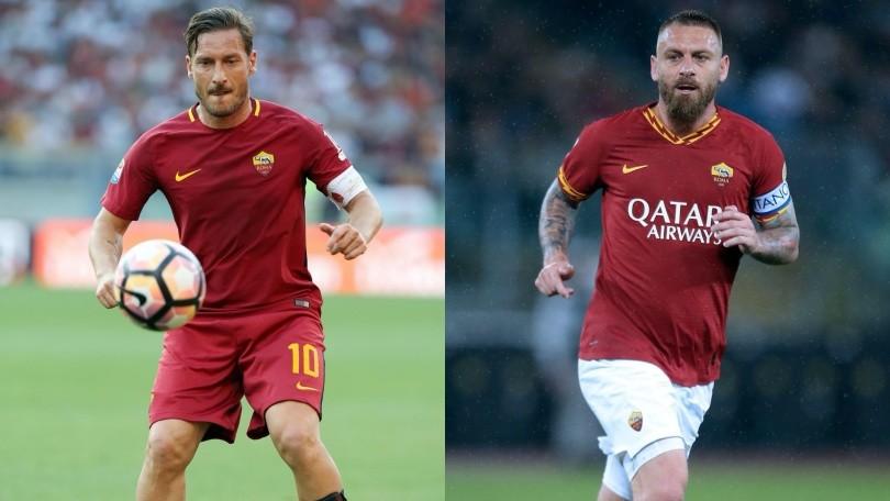 """""""Le vere bandiere del calcio: ci sono Totti e De Rossi"""""""