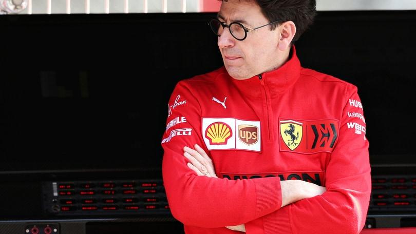 """Ferrari, Binotto: """"Peccato per i punti persi con Vettel, contenti per Leclerc"""""""