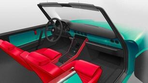 Alfa Romeo spider elettrica di Garage Italia: gli scatti