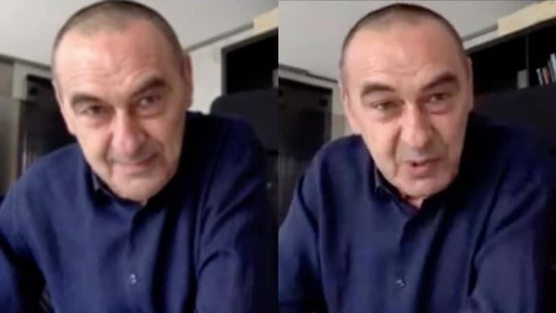 """Sarri: """"Juve non favorita dagli arbitri. Napoli? Fischiato dove ho dato tutto"""""""