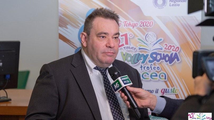 La Fipav Lazio ha concluso gli incontri con le società