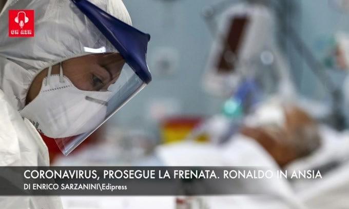 Coronavirus, prosegue la frenata. Ronaldo in ansia