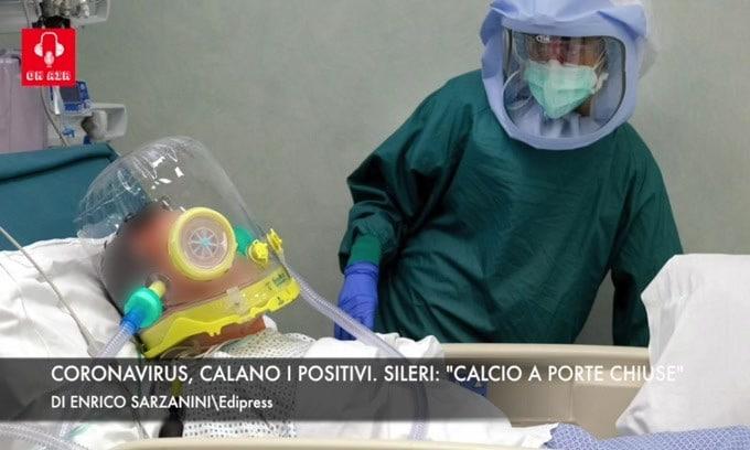 "Coronavirus, calano i positivi. Sileri: ""Calcio a porte chiuse"""