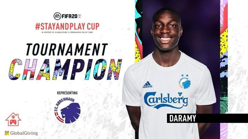 Mohamed Daramy vince la coppa Stay and Play di FIFA 20