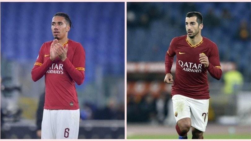 Roma, accordo trovato: Smalling e Mkhitaryan resteranno a Trigoria