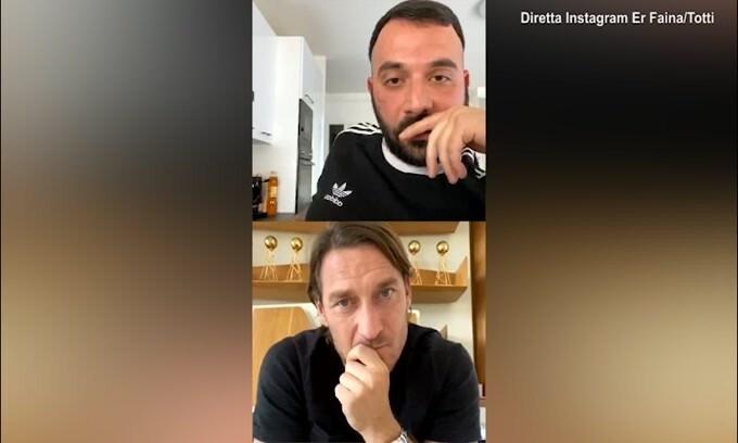 """Totti: """"Mio figlio a Formello? Ci penserei"""""""