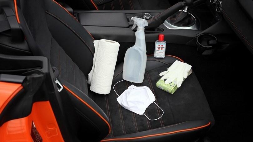 """Sanificazione dell'auto, ecco come fare in vista della """"ripartenza"""""""