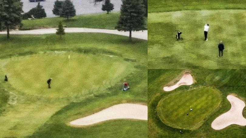 Coronavirus, nel Wisconsin si torna sui campi da golf