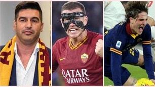 Dall'arrivo di Fonseca, all'ultimo allenamento: la stagione della Roma in 10 foto