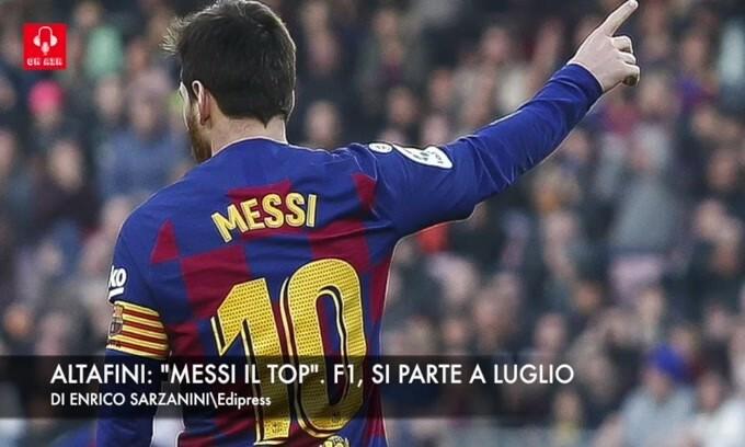 """Altafini: """"Messi il top"""". F1, si parte a luglio"""