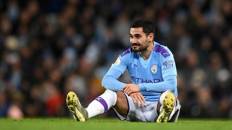 Manchester City: Gundogan positivo al Coronavirus, è in isolamento