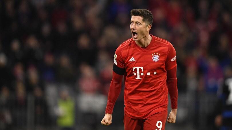 Lewandowski esclude Messi e Ronaldo dai suoi attaccanti preferiti