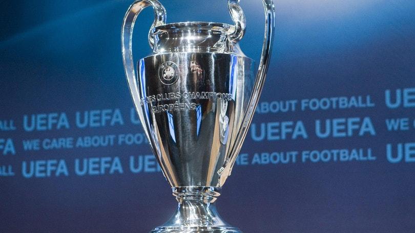 Champions: Juve col Barcellona, Inter col Real. Il Dortmund per la Lazio, l'Atalanta sfida il Liverpool