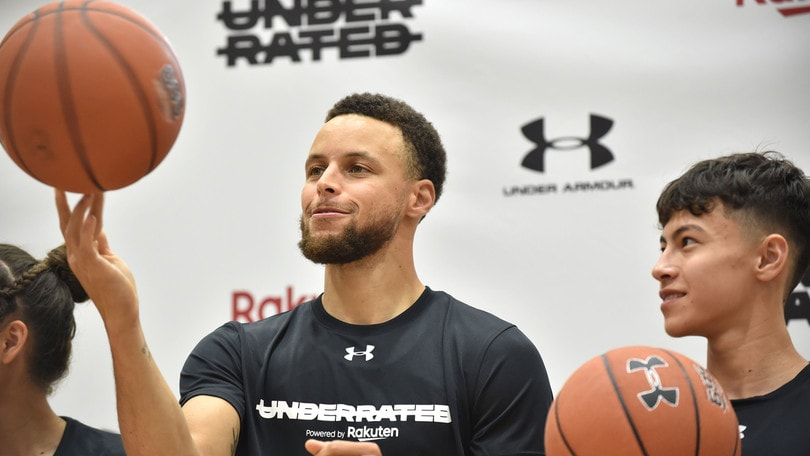 Ryder Cup, star Nba Curry: