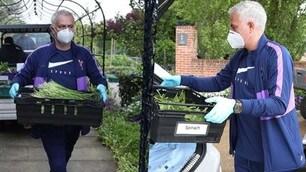 Mourinho Special delivery: consegna verdure fresche per il Tottenham