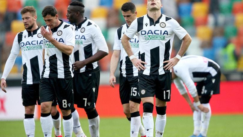 Udinese, negativi i tamponi e test effettuati sui calciatori e staff