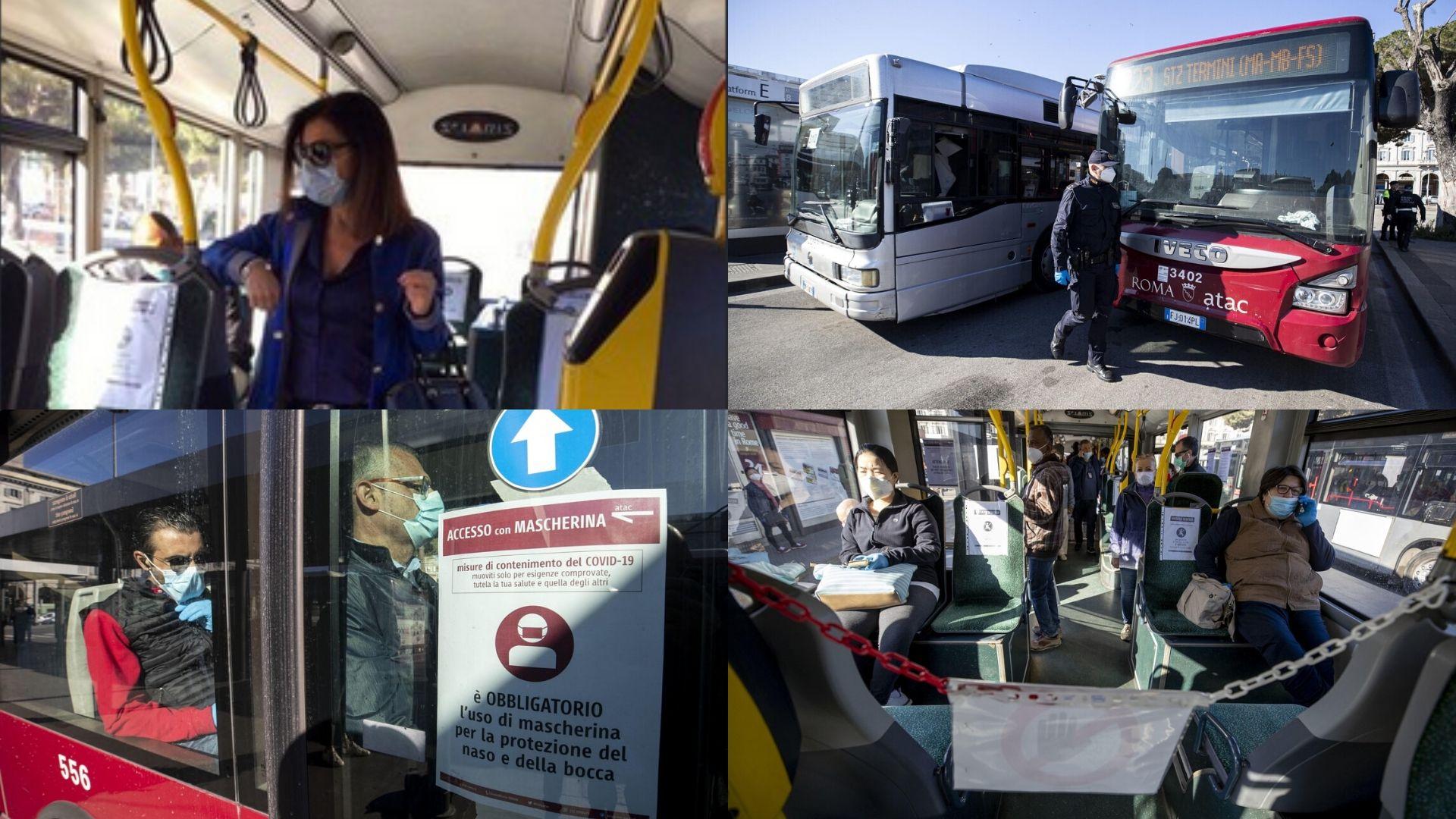 Fase 2 trasporti Roma: la ministra De Micheli testa il servizio a Termini FOTO