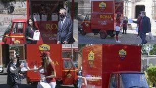 Coronavirus, Roma Cares distribuisce mascherine, guanti e gel igienizzante