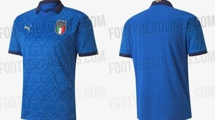 Italia, sarà questa la maglia dei prossimi Europei?