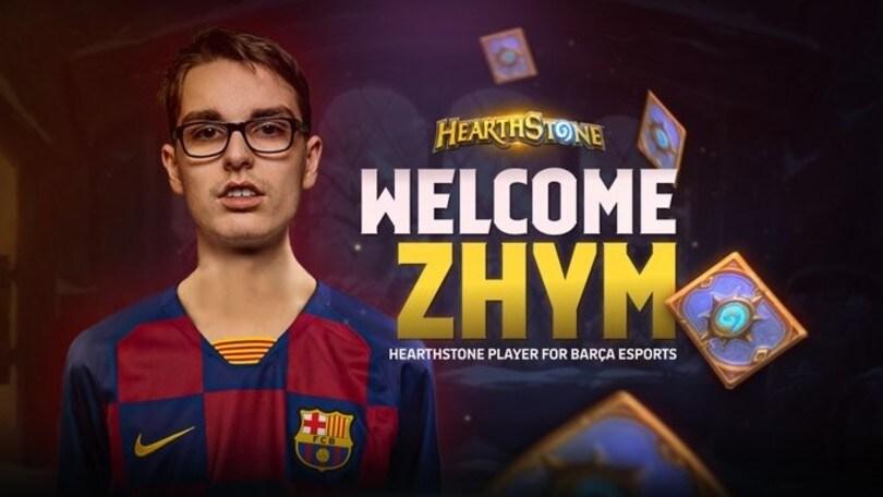 Il Barcellona ingaggia Zhym per Hearthstone