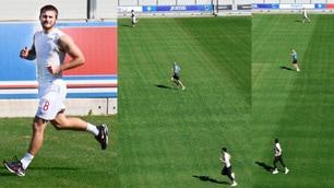 Sampdoria, primi allenamenti individuali a Bogliasco