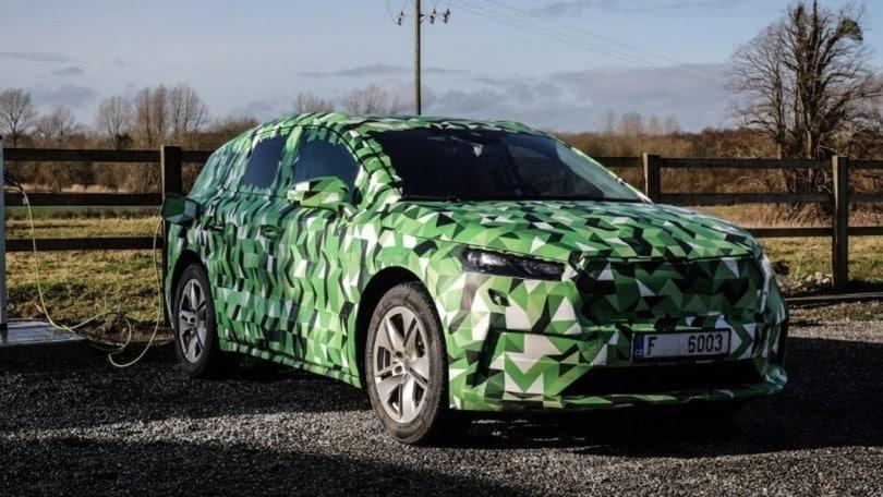 Skoda Enyaq iV, i primi dettagli del nuovo SUV elettrico
