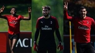 Milan, primo giorno di allenamenti individuali: volti distesi a Milanello